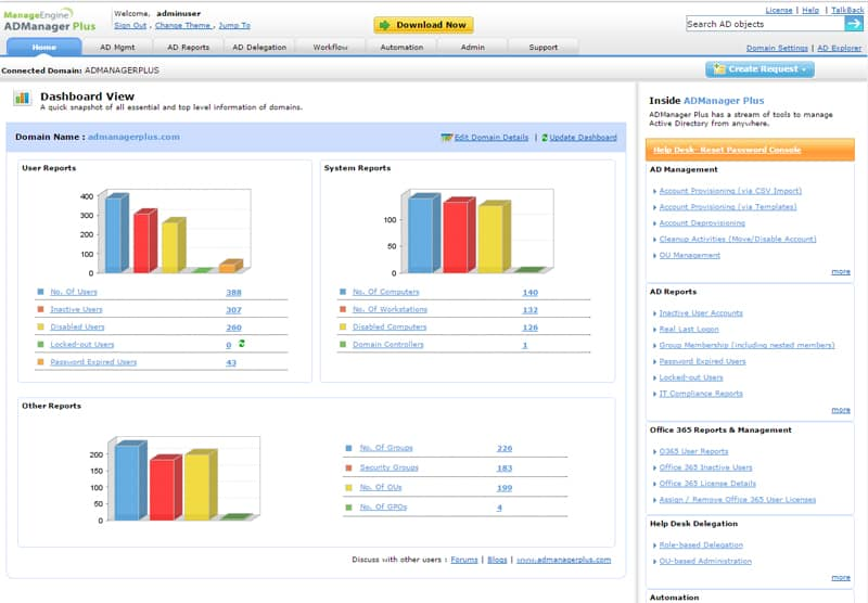 admanager plus free edition