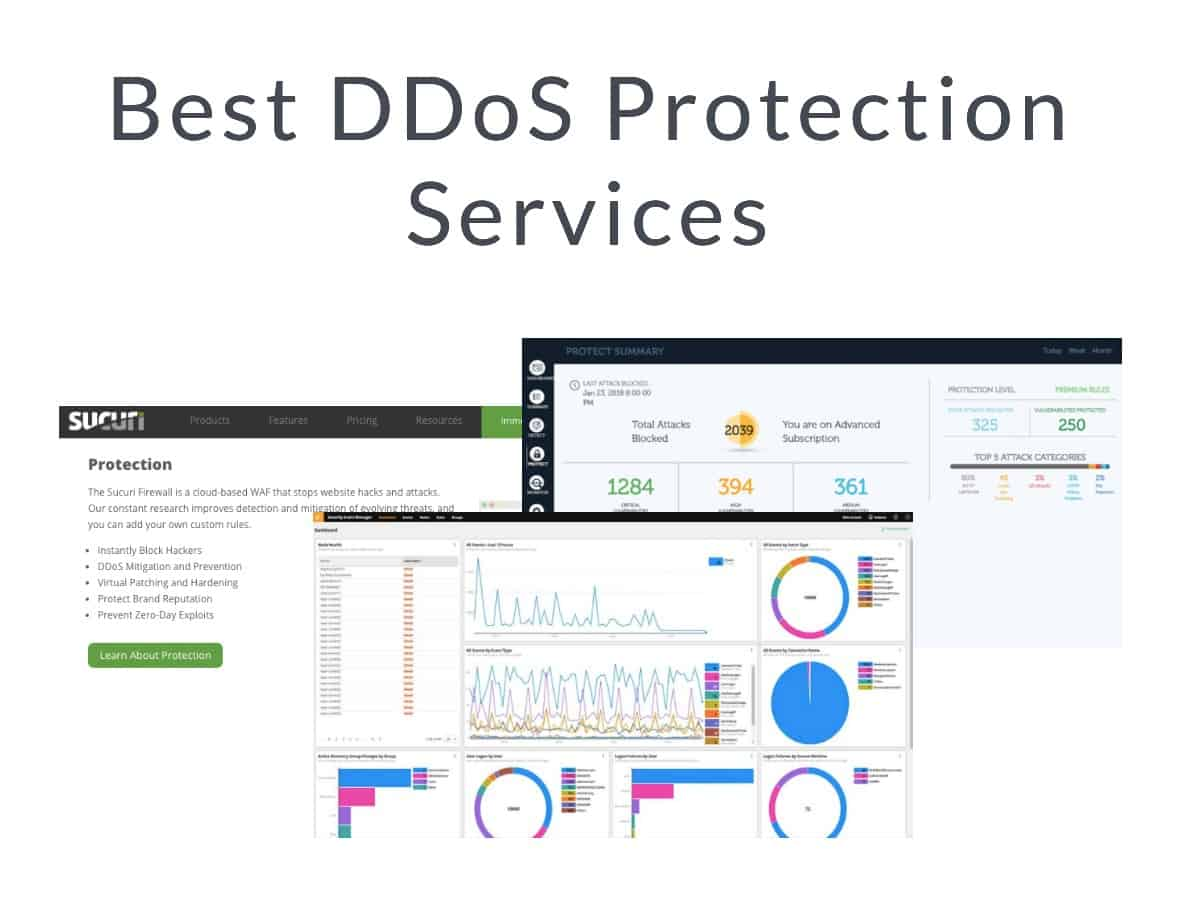 The 8 Best DDoS Protection Services (Get Free Trials & Downloads)