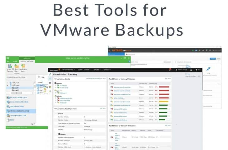 Best Tools for VMware Backups