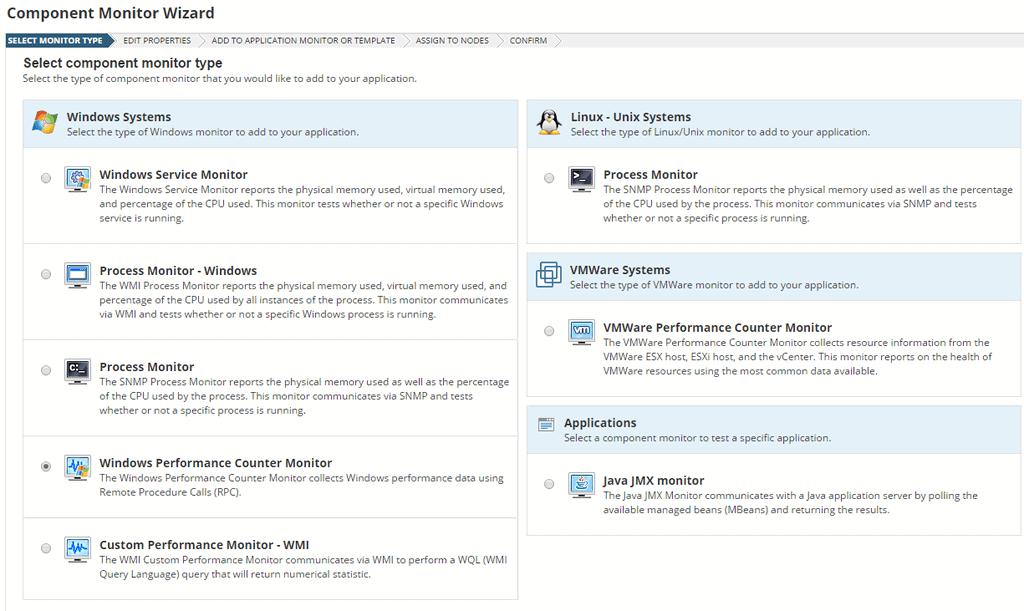 Custom Monitor Types