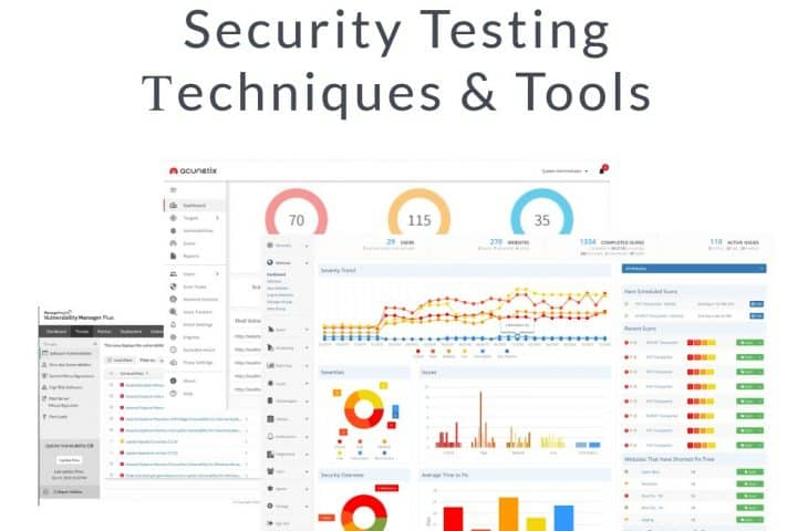 Security Testing Τechniques and Tools