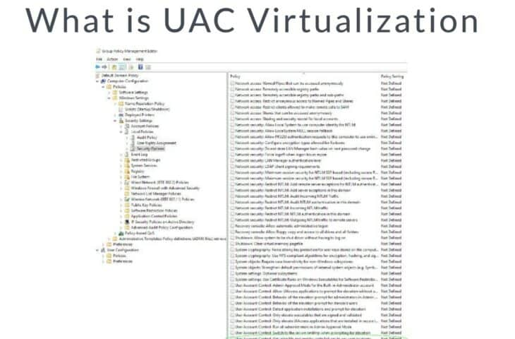 What is UAC Virtualization
