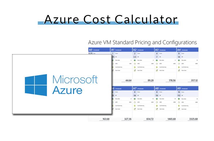 azure cost calculator
