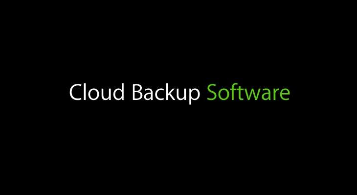 best cloud backup software