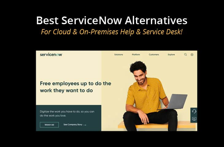 best servicenow alternatives