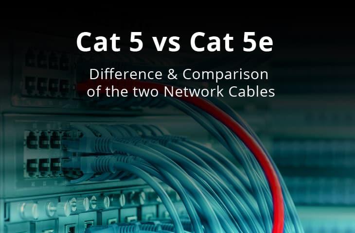 cat5 vs cat5e