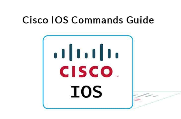 cisco ios commands guide