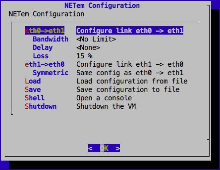 NetEm Configuration