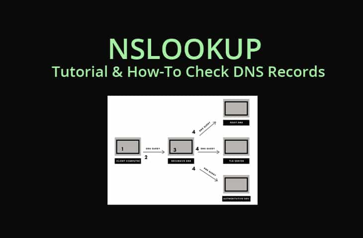 nslookup how to troubleshoot and check dns records