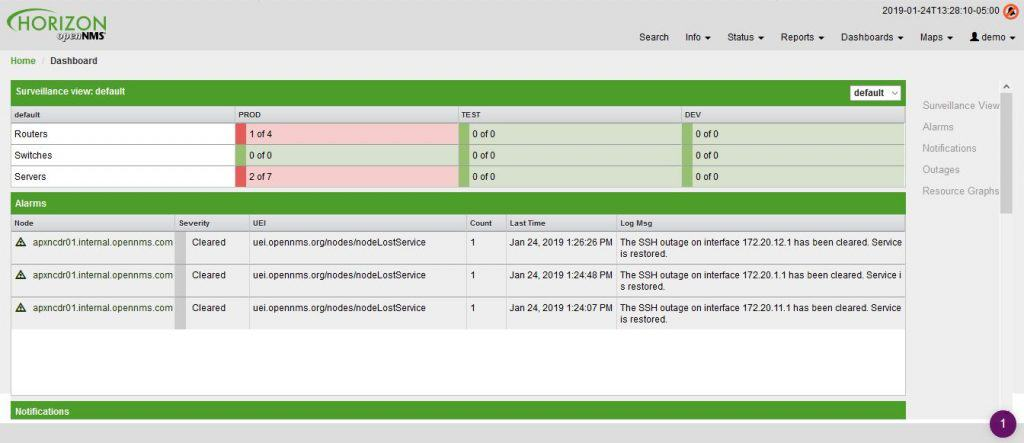 openms dashboard