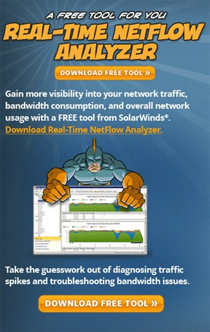 Free Real-time netflow analyzer