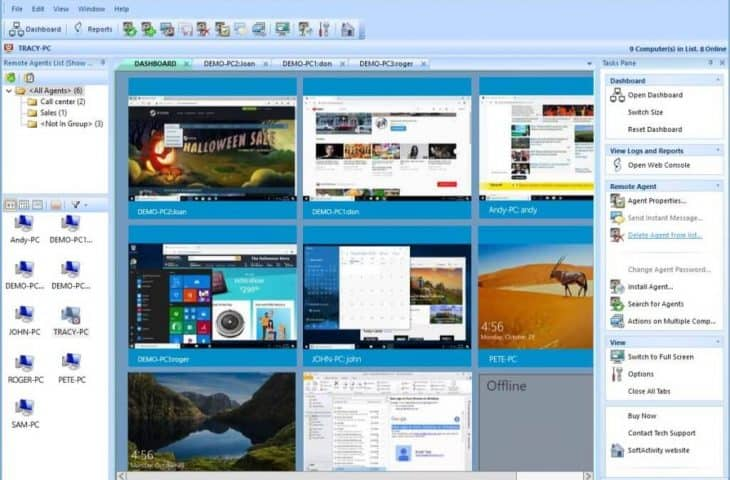 softactivity employee monitoring software