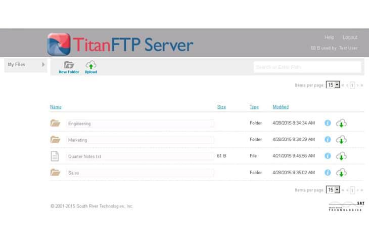 titan sftp review