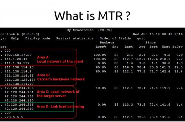 what is MTR and howto guide tutorial