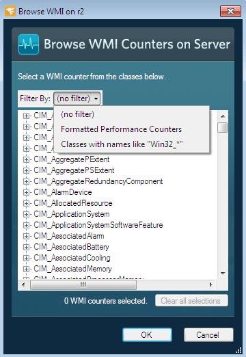 Windows Server counters monitoring